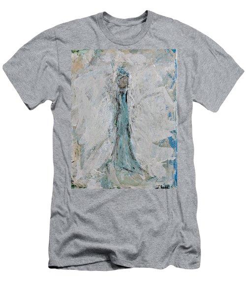 Angel Of Faith Men's T-Shirt (Athletic Fit)