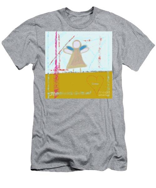 Angel Of Grace Men's T-Shirt (Athletic Fit)