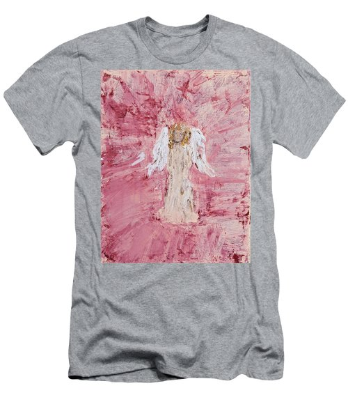 Angel Was Lost But Now Is Found  Men's T-Shirt (Athletic Fit)