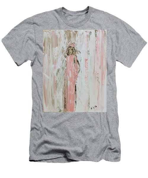 Angels In Pink Men's T-Shirt (Athletic Fit)