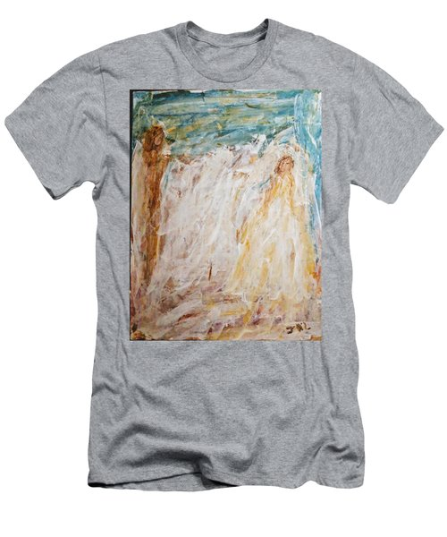 Angels Of Peace Men's T-Shirt (Athletic Fit)