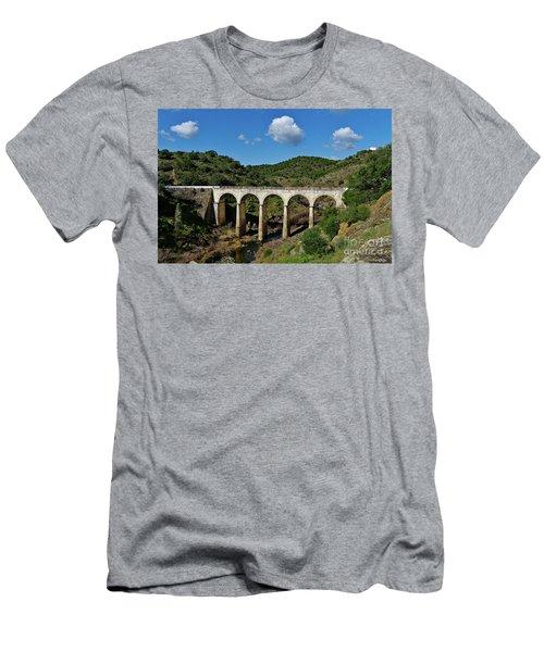 Antique Mertola's Bridge In Alentejo Men's T-Shirt (Athletic Fit)
