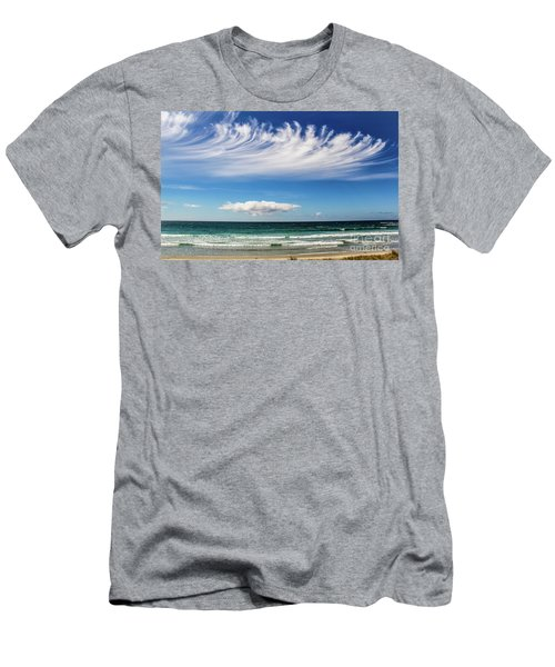 Aotearoa - The Long White Cloud, New Zealand Men's T-Shirt (Athletic Fit)
