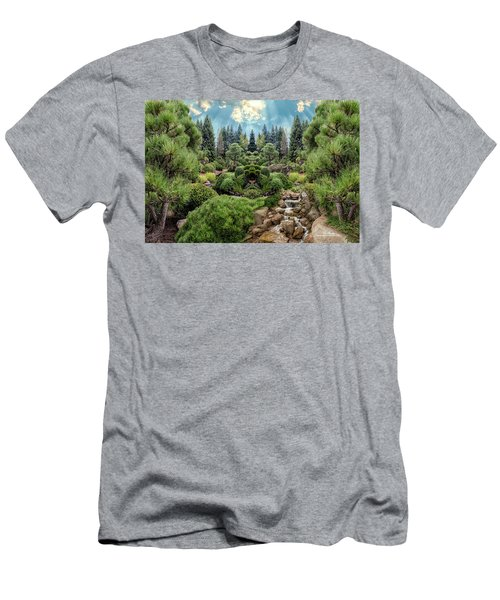 Men's T-Shirt (Athletic Fit) featuring the photograph Approaching Eden by Mike Braun
