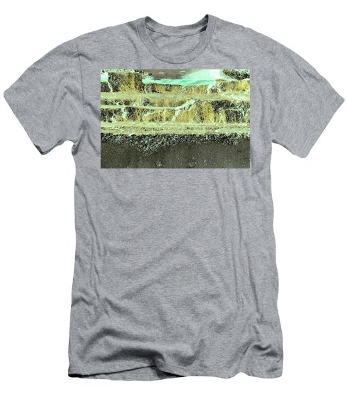 Men's T-Shirt (Athletic Fit) featuring the photograph Art Print Abstract 18 by Harry Gruenert