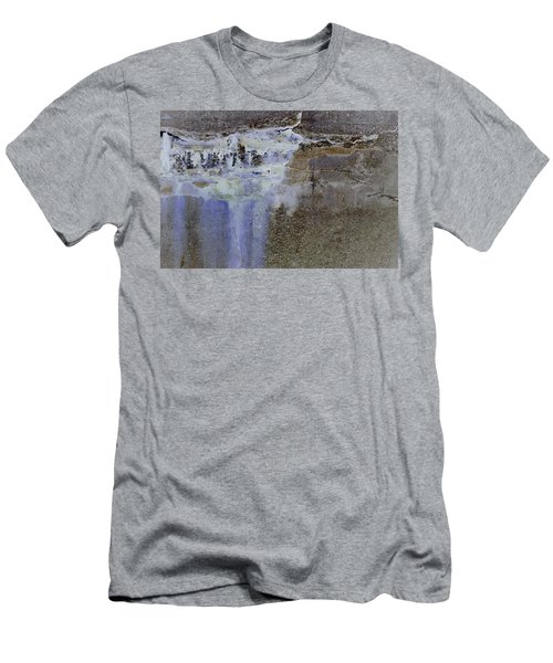 Men's T-Shirt (Athletic Fit) featuring the photograph Art Print Abstract 21 by Harry Gruenert