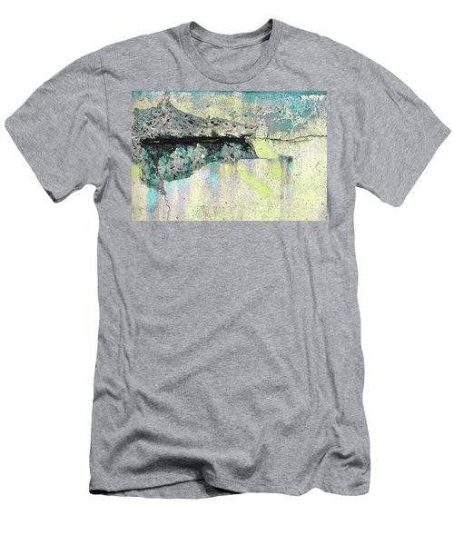 Men's T-Shirt (Athletic Fit) featuring the photograph Art Print Abstract 24 by Harry Gruenert