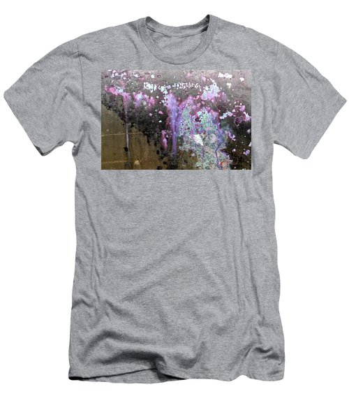 Men's T-Shirt (Athletic Fit) featuring the photograph Art Print Abstract 32 by Harry Gruenert