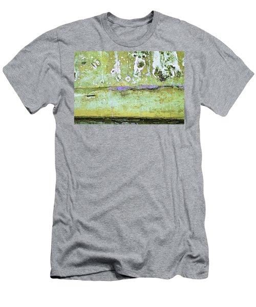 Men's T-Shirt (Athletic Fit) featuring the photograph Art Print Patina 50 by Harry Gruenert