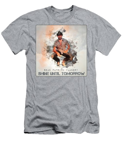 Cowboy Flanery Men's T-Shirt (Athletic Fit)