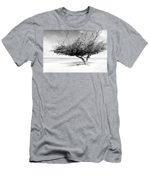 Men's T-Shirt (Athletic Fit) featuring the photograph Aruba Tree by Yuri Darius