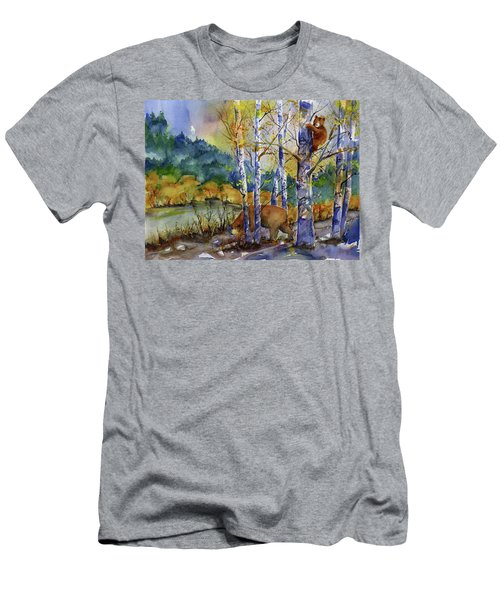Aspen Bears At Emmigrant Gap Men's T-Shirt (Athletic Fit)