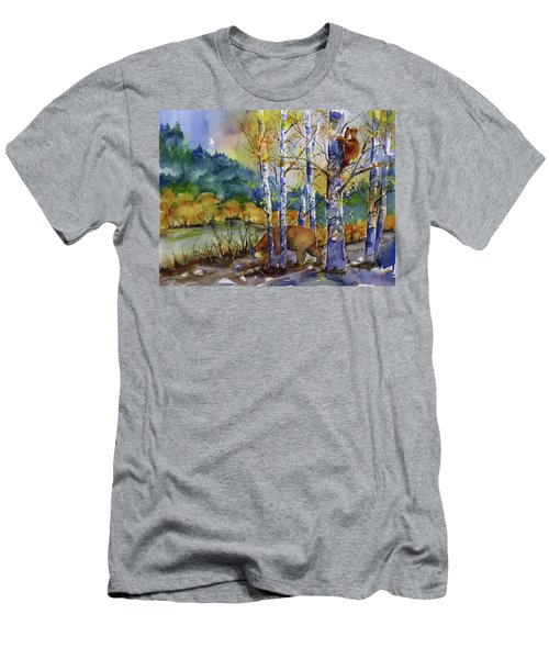 Aspen Bears At Emmigrant Gap Men's T-Shirt (Athletic Fit)