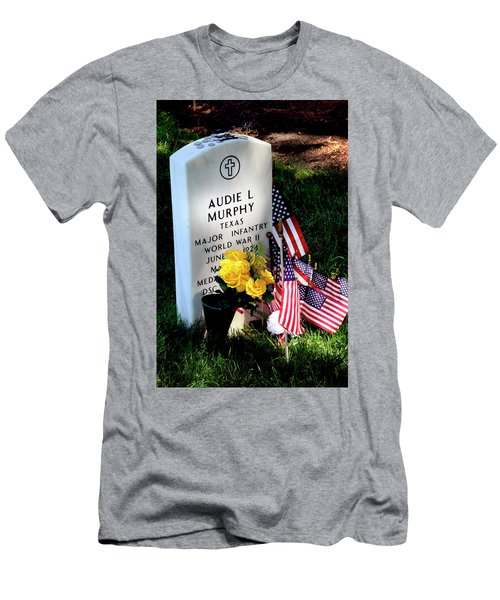 Audie Murphy At Arlington Men's T-Shirt (Athletic Fit)