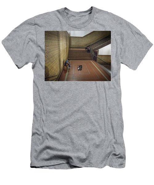 Men's T-Shirt (Athletic Fit) featuring the photograph Audience by Alex Lapidus