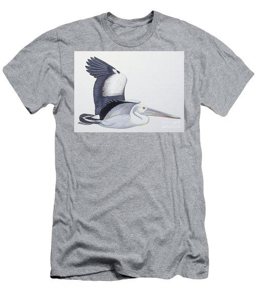Australian Pelican  Pelecanus Conspicillatus Men's T-Shirt (Athletic Fit)