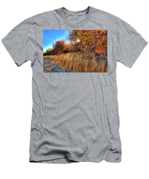 Men's T-Shirt (Athletic Fit) featuring the photograph Autumn At Magpie Forest by David Patterson