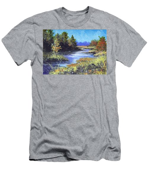 Autumn Brook Skech Men's T-Shirt (Athletic Fit)