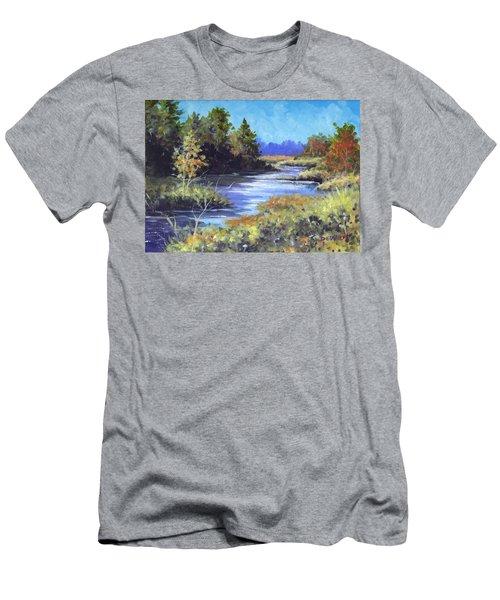 Autumn Brook Skech Men's T-Shirt (Athletic Fit)