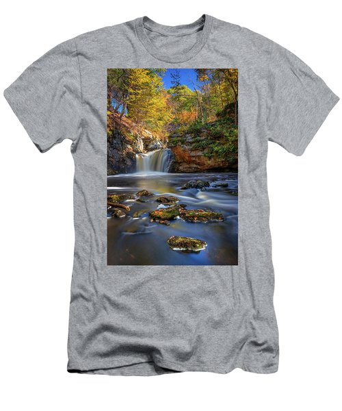 Autumn Day At Doane's Falls Men's T-Shirt (Athletic Fit)