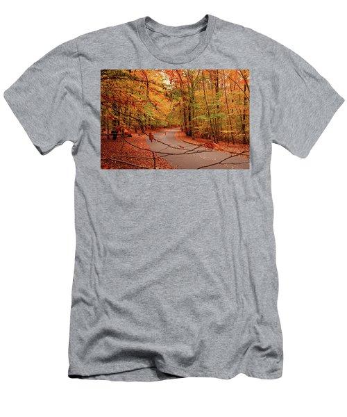 Autumn In Holmdel Park Men's T-Shirt (Athletic Fit)