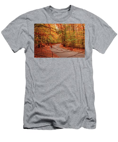 Autumn In Holmdel Park Men's T-Shirt (Athletic Fit)
