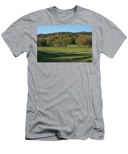 Autumn Scenery Men's T-Shirt (Athletic Fit)