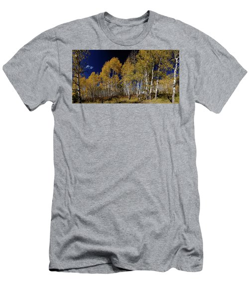 Men's T-Shirt (Athletic Fit) featuring the photograph Autumn Walk In The Woods by James BO Insogna