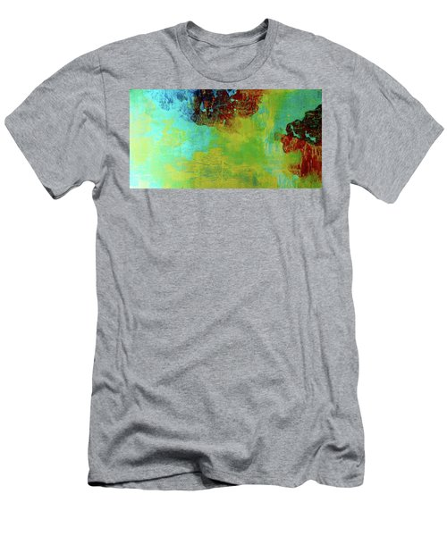 Men's T-Shirt (Athletic Fit) featuring the painting Avant-grande Scenery  by Arttantra