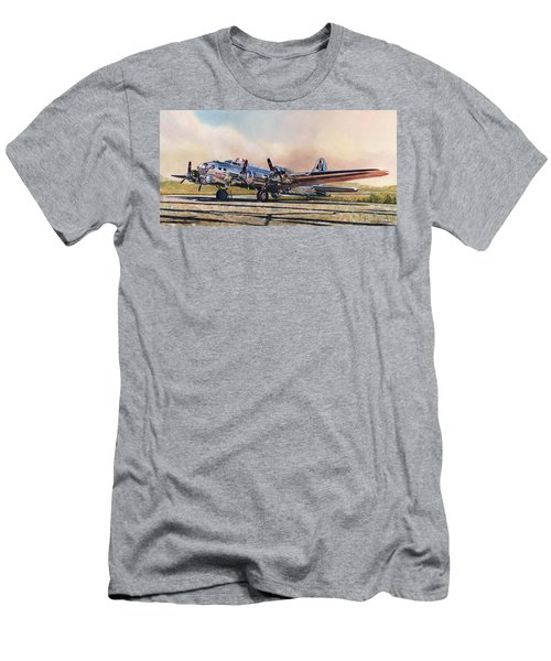 B-17g Sentimental Journey Men's T-Shirt (Athletic Fit)