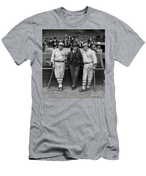 Babe Ruth And Jack Bentley 1923 Men's T-Shirt (Athletic Fit)