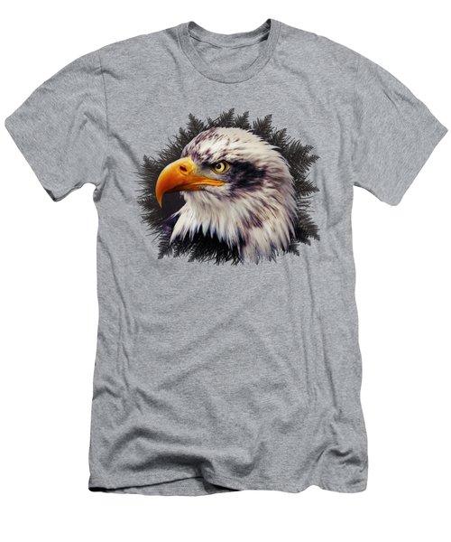 Bald Eagle Men's T-Shirt (Athletic Fit)