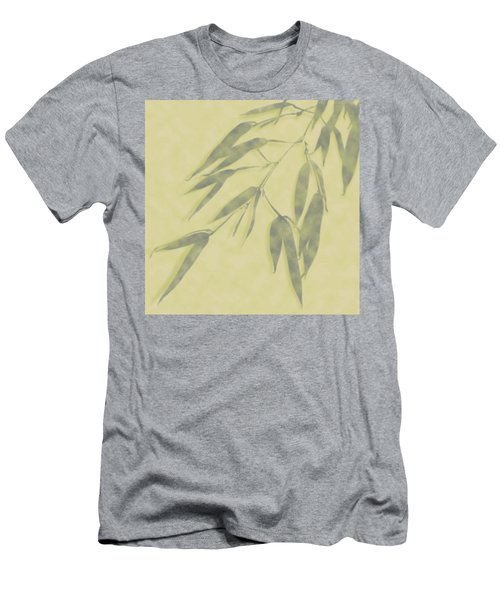Bamboo Leaves 0580b Men's T-Shirt (Athletic Fit)