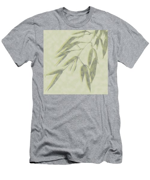 Bamboo Leaves 0580c Men's T-Shirt (Athletic Fit)