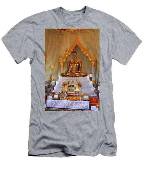 Bangkok, Thailand - Golden Buddha Men's T-Shirt (Athletic Fit)