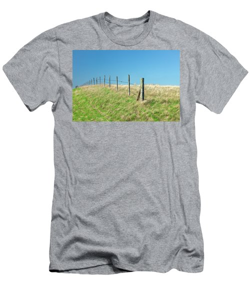 Barbed Boundary Men's T-Shirt (Athletic Fit)