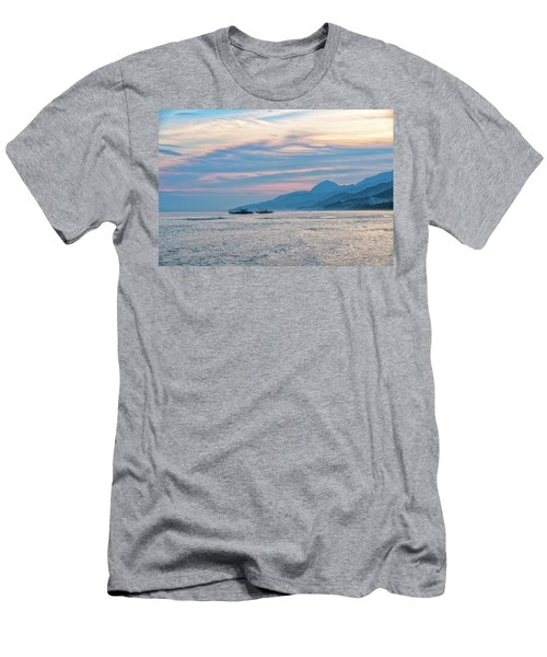 Men's T-Shirt (Athletic Fit) featuring the photograph Batangas Sunset by Russell Pugh