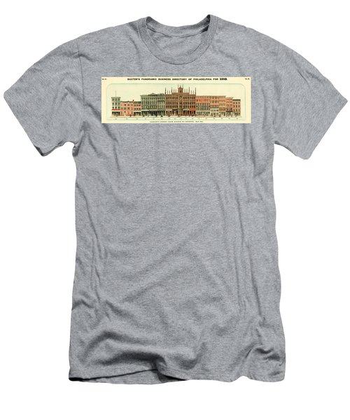 Baxter's Panoramic Business Directory Men's T-Shirt (Athletic Fit)