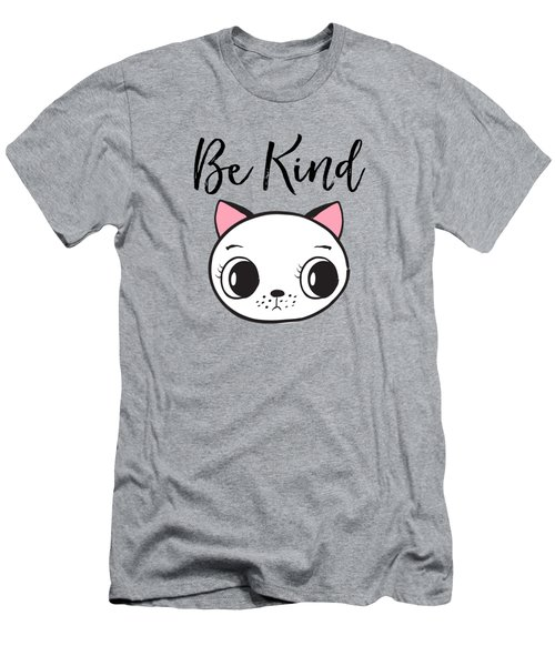 Be Kind - Baby Room Art Poster Print Men's T-Shirt (Athletic Fit)