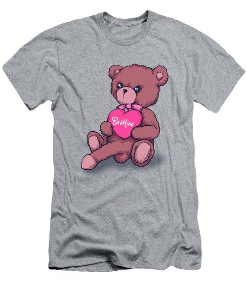 Be Mine Bear Men's T-Shirt (Athletic Fit)