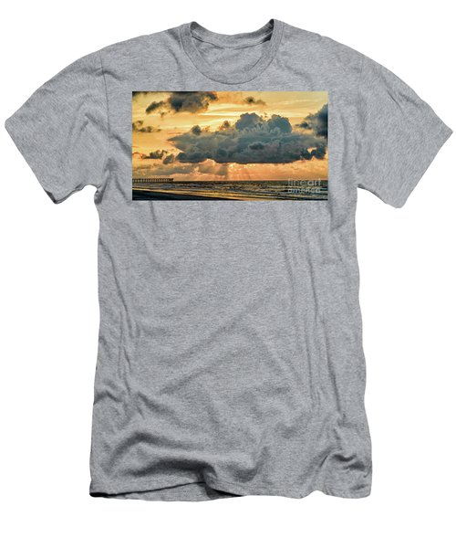 Beaming Through Men's T-Shirt (Athletic Fit)