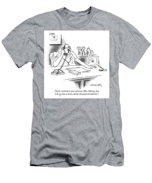 Beans About Rheumatoid Arthritis Men's T-Shirt (Athletic Fit)
