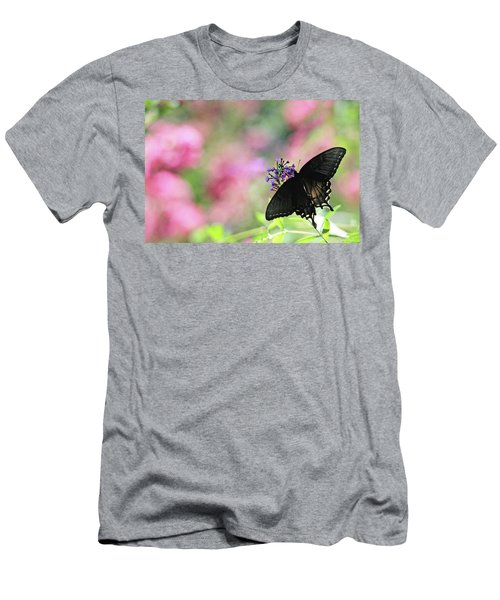 Men's T-Shirt (Athletic Fit) featuring the photograph Beautiful Butterfly by Trina Ansel