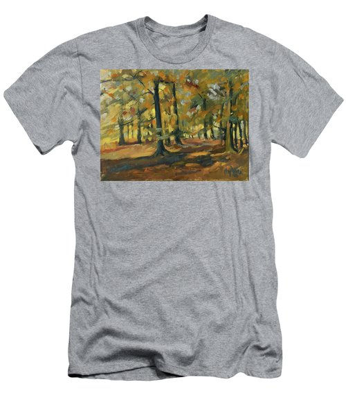 Beeches In Autumn Men's T-Shirt (Athletic Fit)