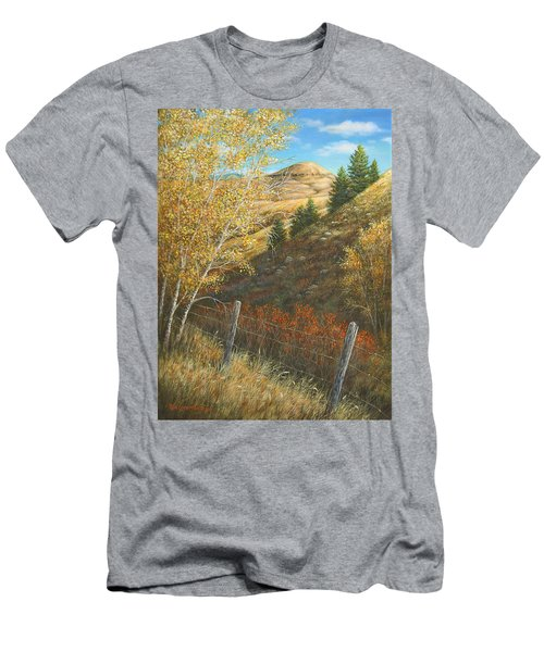 Belt Butte Autumn Men's T-Shirt (Athletic Fit)