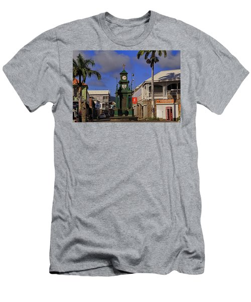 Men's T-Shirt (Athletic Fit) featuring the photograph Berkeley Memorial Clock by Tony Murtagh