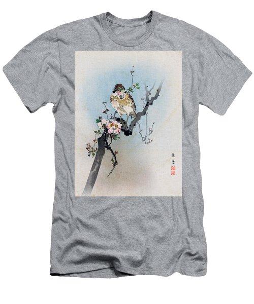 Bird And Petal Men's T-Shirt (Athletic Fit)