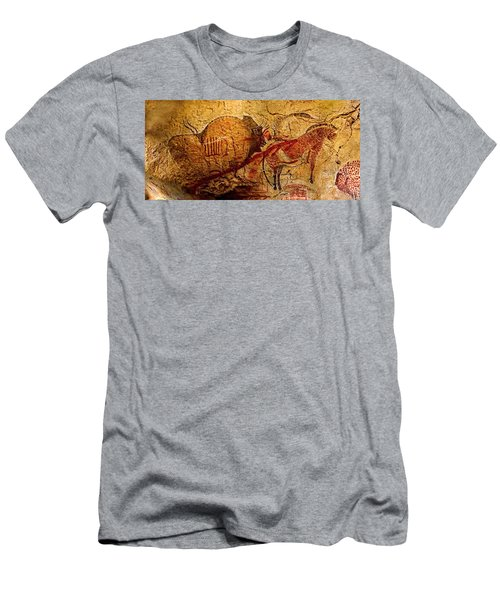 Bisons Horses And Other Animals Closer Men's T-Shirt (Athletic Fit)