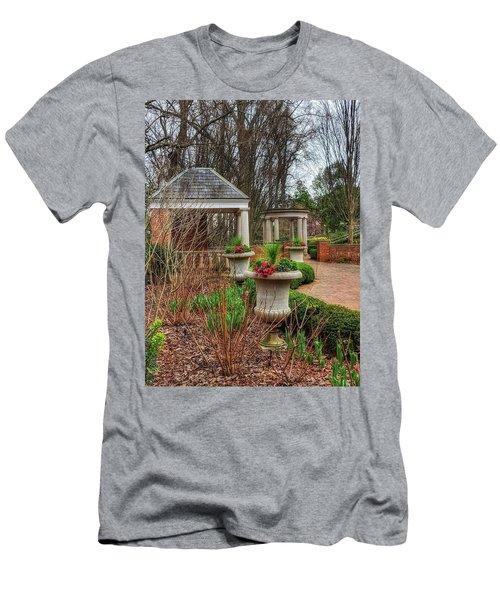 Bits Of Green Men's T-Shirt (Athletic Fit)