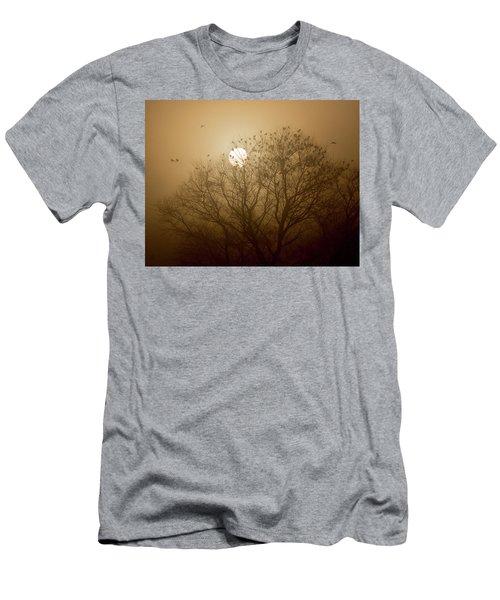 Blackbird Sunrise Men's T-Shirt (Athletic Fit)